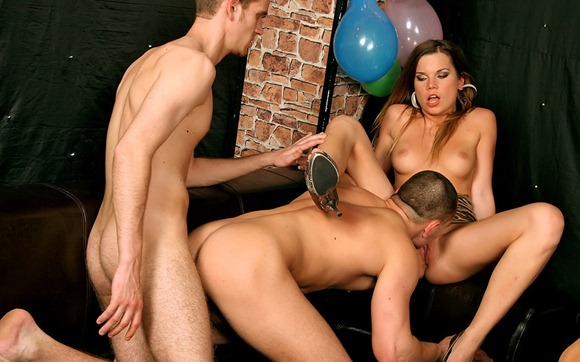 sexy-chick-taking-on-two-homo-guys
